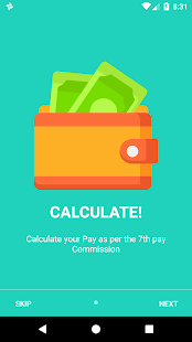 TN 7th pay calculator - náhled