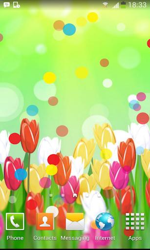 Spring Color Flower Wallpaper