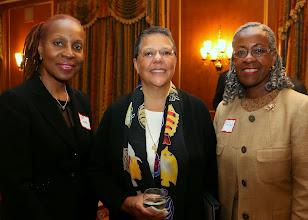 Photo: Valerie Caldwell (US Attorney), Alice Alexander, and Judge Pamela Dashiell (Boston Municipal Court).