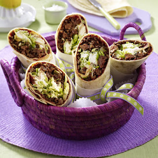 Beef and Goat Cheese Wraps