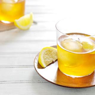 Bourbon and Honey Sazerac Cocktail.