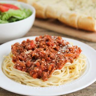 Classic Spaghetti.