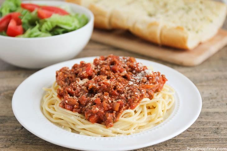 Classic Spaghetti Recipe