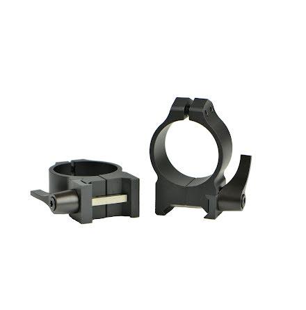 Warne 214LM 30mm QD Medium Rings