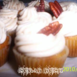 Cardamom-Cinammon Pumpkin Cupcakes