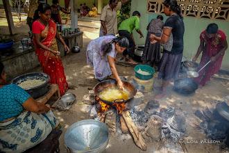 Photo: Cooking On Kayts Island  Northern Sri Lanka