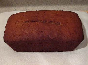NO SUGAR OR WHITE FLOUR MOIST BANANA NUT BREAD