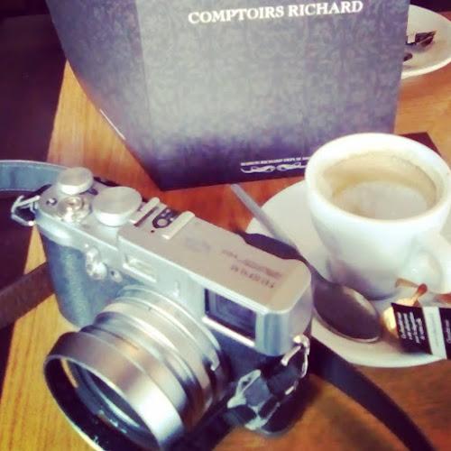 il piacere di un caffè con la mia amica  di reinaemanuele