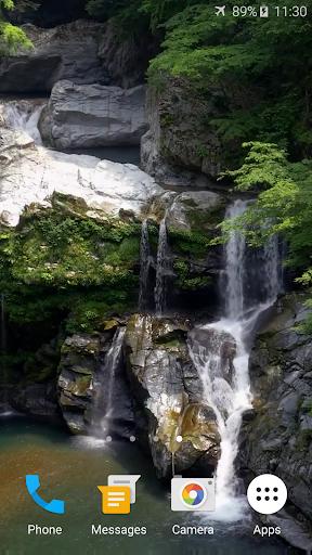 4Kライブ壁紙滝