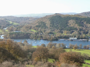 Photo: Lakeside, Lake Windermere, viewed from Gummers How