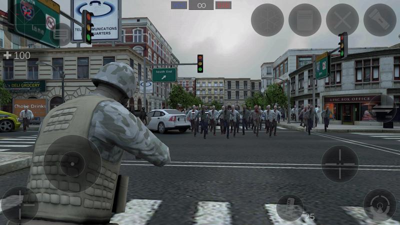 Zombie Combat Simulator Screenshot 2
