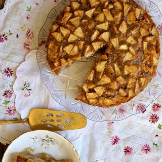 Whole-Wheat and Vegan Apple Spice Cake