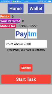 IN Wallet Earn Paytm Cash - náhled
