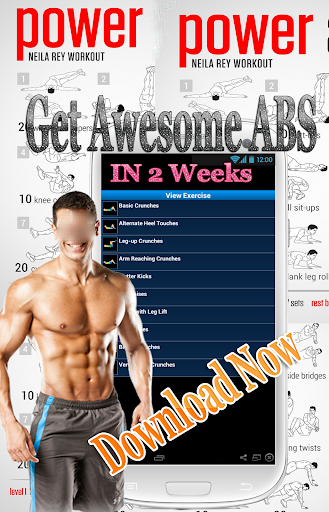 daily workout: 6 abs exercise