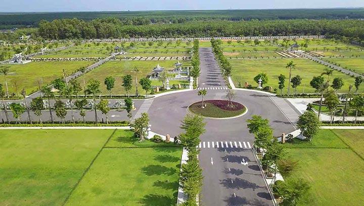 Quy hoạch trên diện tích rộng lớn, nghĩa trang Vĩnh Hằng hướng tới chất lượng hoa viên 5 sao