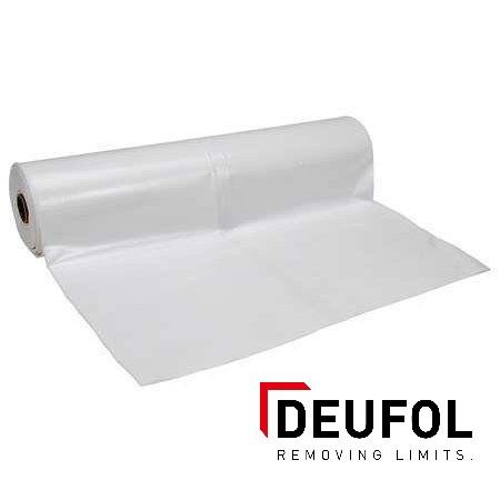 Plastic foil white.