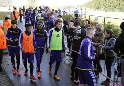 ? Anderlecht a ouvert ses portes mercredi, quelques joueurs sont restés à l'intérieur ou se sont entraînés à part