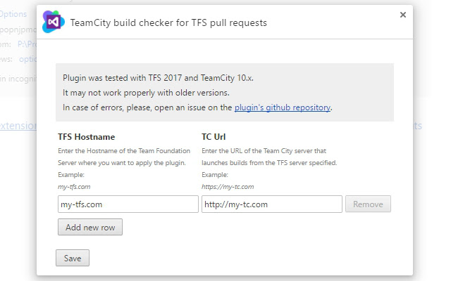 TeamCity build checker for TFS pull requests