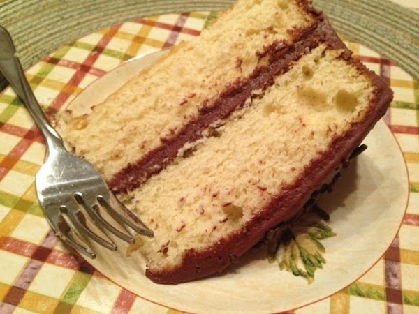 Bonnie Butter Cake With French Silk Frosting Recipe