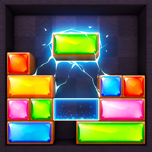 انفجار جوهرة - كتلة لعبة لغز قطرة