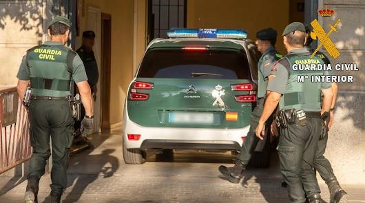 La Guardia Civil detiene a tres personas por agresión violenta y robo en Cuevas del Almanzora.