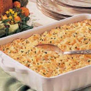 Cheesy Hash Potato Casserole.