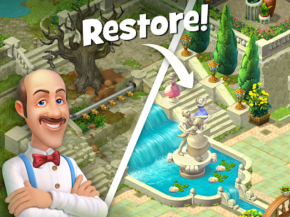 Gardenscapes MOD (Unlimited Coins) 10