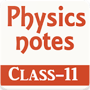 Physics notes for class 11 icon