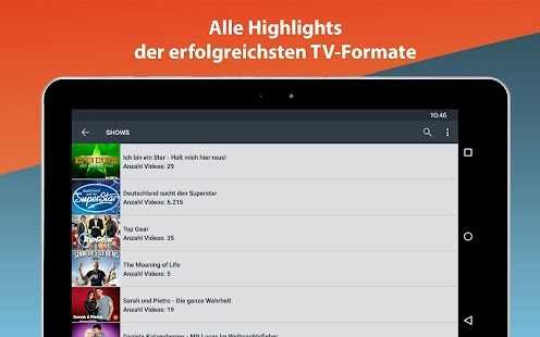 Clipfish: Filme, Serien, Anime- screenshot thumbnail