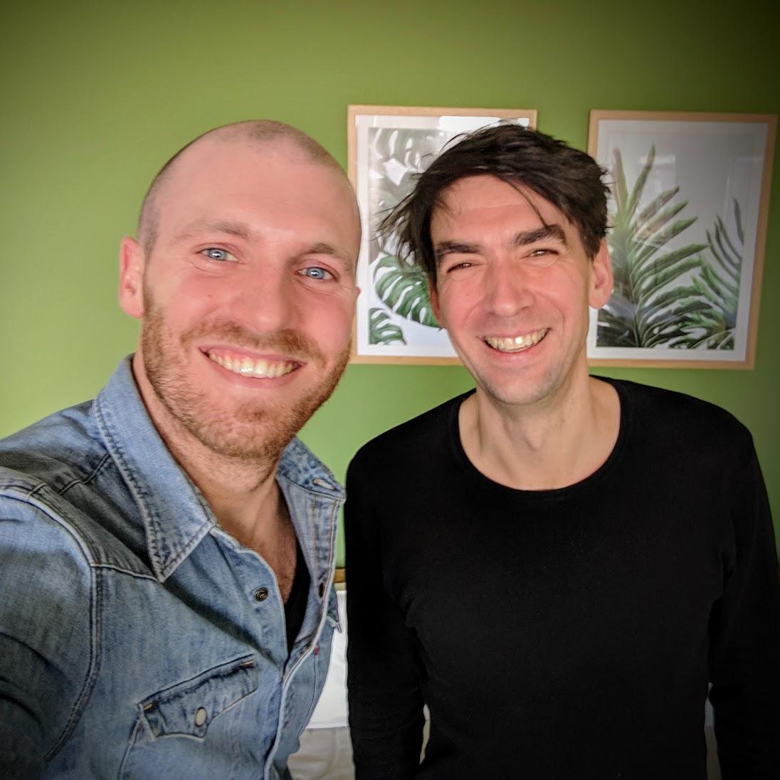 Jimdo Gründer & CEO Matthias Henze & TALENTE Podcast Host Michael Asshauer