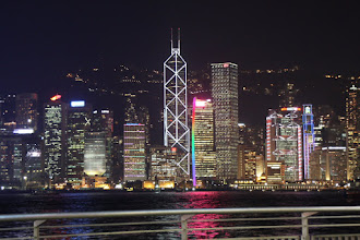 Photo: Day 195 -  Lights on HK Island #2