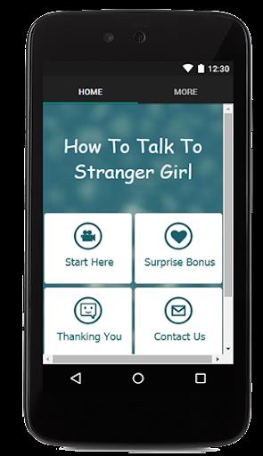 How To Tak To Strange Girl