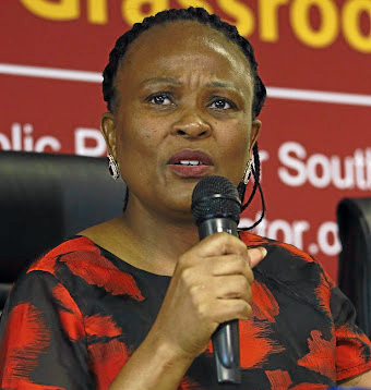 FINGERS IN THE TILL Public Protector Busisiwe Mkhwebane releases her report on an investigation into allegations of misappropriation of public funds by the Eastern Cape government and municipalities in preparing for Nelson Mandela's funeral
