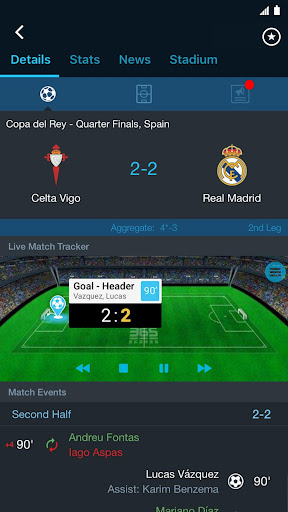 365Scores - Sports Scores Live screenshot 3
