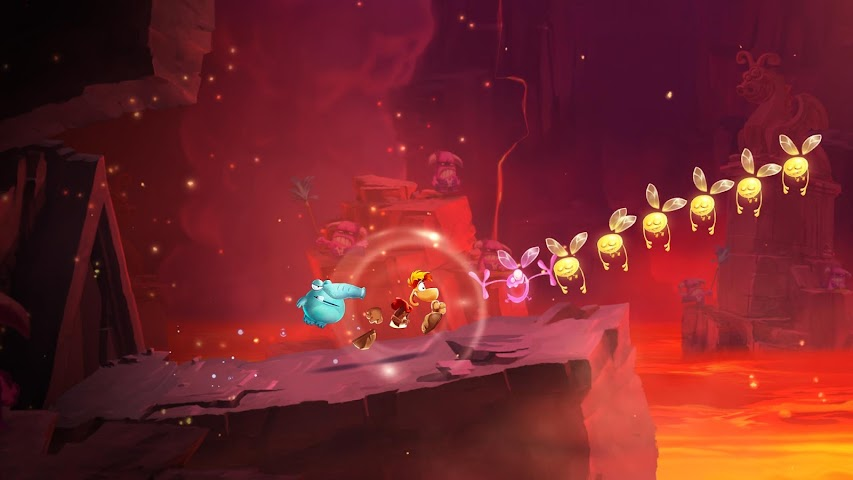 android Rayman Adventures Screenshot 5