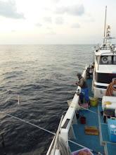 Photo: さあー!今日もガンバって釣りましょう!