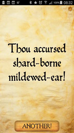 玩免費娛樂APP|下載Shakespeare Insult Generator app不用錢|硬是要APP