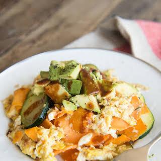 Whole 30 California Avocado Sweet Potato Hash.