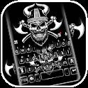 Viking Skull Keyboard Theme icon