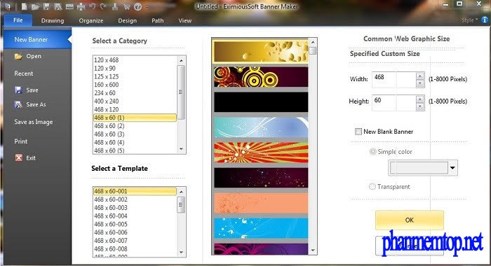 EximiousSoft Banner Maker Pro Free Download