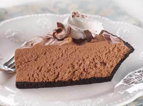 Chocolate Velvet Pie image