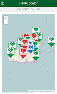 Defib Locator Guernsey- screenshot thumbnail