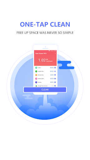 Super Cleaner 2019 - Free Up Space and Speed Up - screenshot