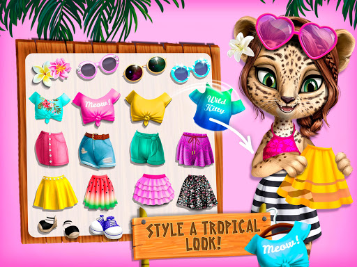 Jungle Animal Hair Salon 2 - Tropical Beauty Salon filehippodl screenshot 13
