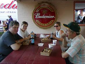 Photo: 2003 - AnneGrethe var sammen med os i 3 uger. Her er vi sammen med John ved Madera Fair