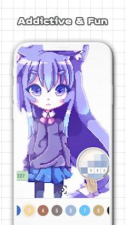 Anime & Manga Color by Number - Sandbox Pixel Art Juegos (apk) descarga gratuita para Android/PC/Windows screenshot