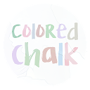 Colored Chalk - Icon Pack