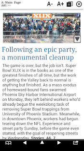 The Arizona Republic Print Edition- screenshot thumbnail