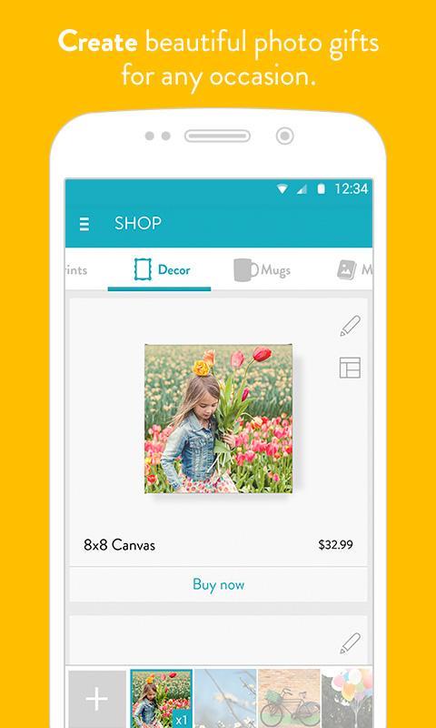 Snapfish - screenshot
