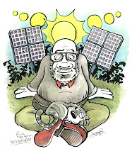 Photo: Caricature: Solar Hero